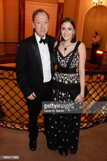 Geordie Greig attends The 64th Evening Standard Theatre Awards at the Theatre Royal Drury Lane on November 18 2018 in London England