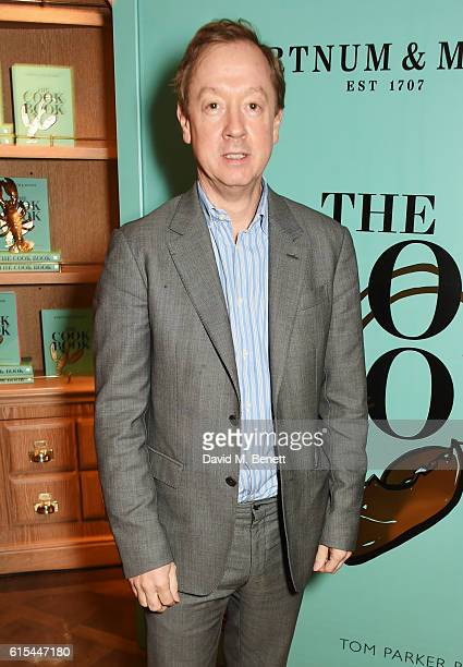 Geordie Greig attends the launch of Fortnum Mason The Cook Book by Tom Parker Bowles at Fortnum Mason on October 18 2016 in London England