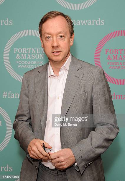 Geordie Greig attends the third annual Fortnum Mason Food Drink Awards 2015 on May 21 2015 in London England The awards celebrate the best in writing...