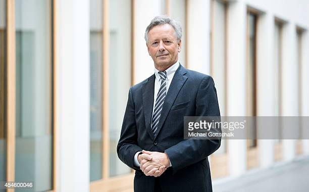 Georg Baum, head of German Hospital Federation , poses during a portrait session prior a press conference dealing with deficites in german health...