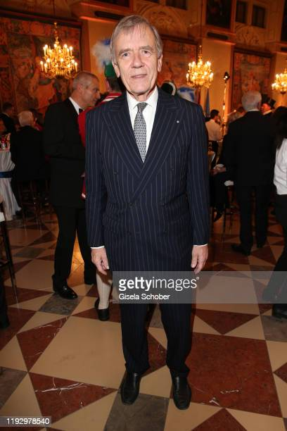 Georg Freiherr von Waldenfels during the new year reception of the Bavarian state government at Residenz on January 10 2020 in Munich Germany