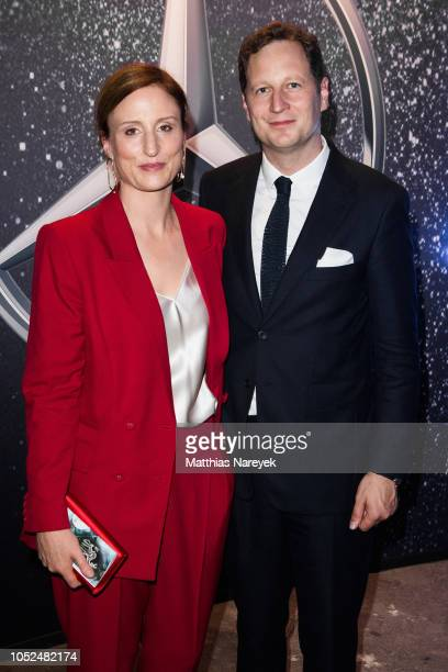 Georg Friedrich Ferdinand Prince of Prussia and Sophie Princess of Prussia attend the Tribute To Bambi after show party at Kraftwerk Mitte on October...