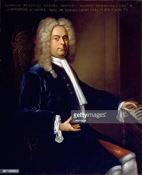 Georg Friedrich Handel - German Composer Italian School, . Civico Museo Bibliografico Musicale, Bologna, Italy