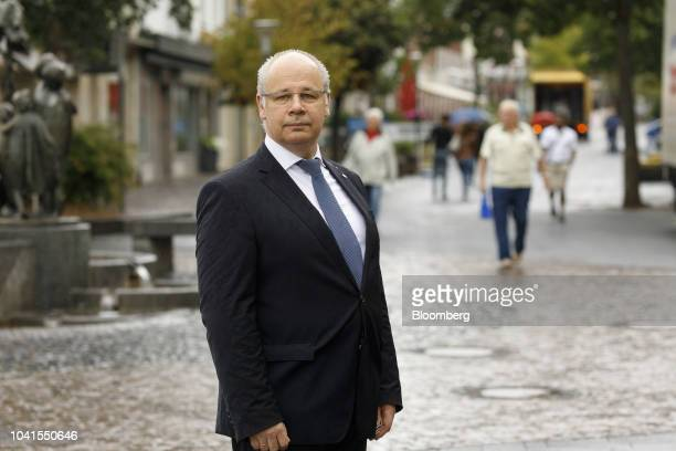 Georg Kippels Christian Democrat Union lawmaker poses for a photograph in Bergheim Germany on Monday Aug 13 2018 Not far from Germanys Rhine River a...