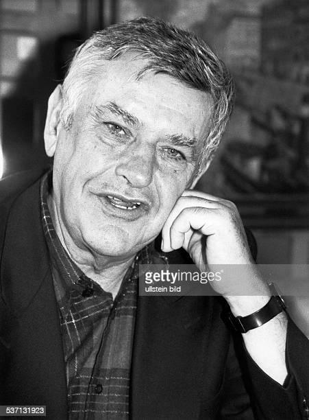 Georg Lentz Verleger Schriftsteller D Portrait 1992