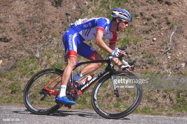 Georg Preidler of Austria and Team Groupama FDJ / during the 42nd Tour of the Alps 2018 Stage 4 a 1344 stage from Chiusa/Klausen to Lienz on April 19...