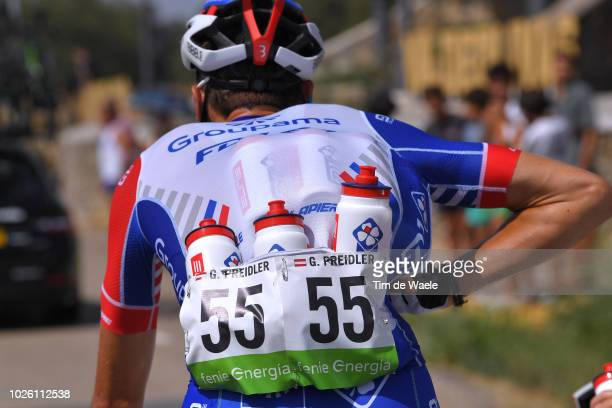 Georg Preidler of Austria and Team Groupama FDJ / Feed Zone / Bottle / during the 73rd Tour of Spain 2018 Stage 9 a 2008km stage from Talavera de la...