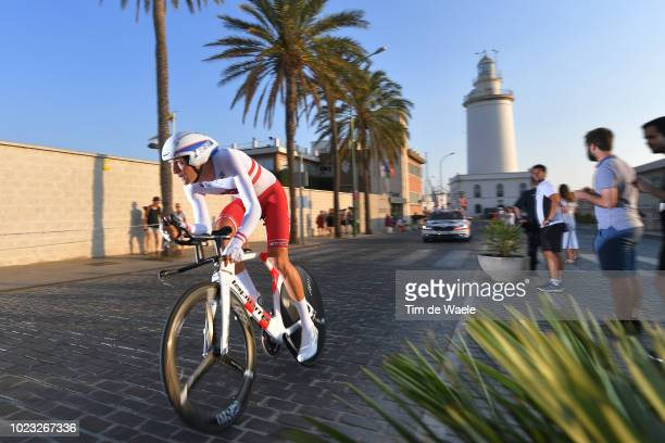 Georg Preidler of Austria and Team Groupama FDJ / Lighthouse / during the 73rd Tour of Spain 2018 Stage 1 a 8km Individual Time Trial from Malaga to...