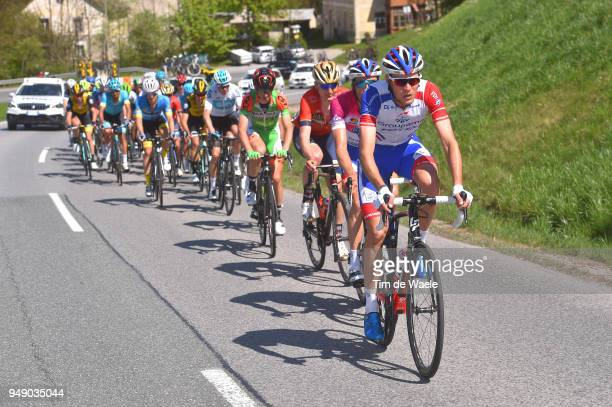 Georg Preidler of Austria and Team Groupama FDJ / Thibaut Pinot of France and Team Groupama FDJ Purple leaders jersey /during the 42nd Tour of the...