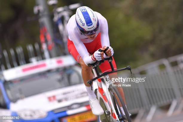 Georg Preidler of Austria and Team GroupamaFDJ / during the 101th Tour of Italy 2018 Stage 1 a 97km Individual Time Trial from Jerusalem to Jerusalem...