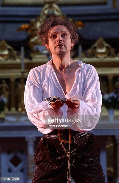 """Georg Preuße, """"Jedermann""""-Festspiele, , Berlin, Deutschland, Europa, Berliner Dom, Aufführung, Theater, Bühne, Auftritt, Schauspieler, Kostüm,..."""
