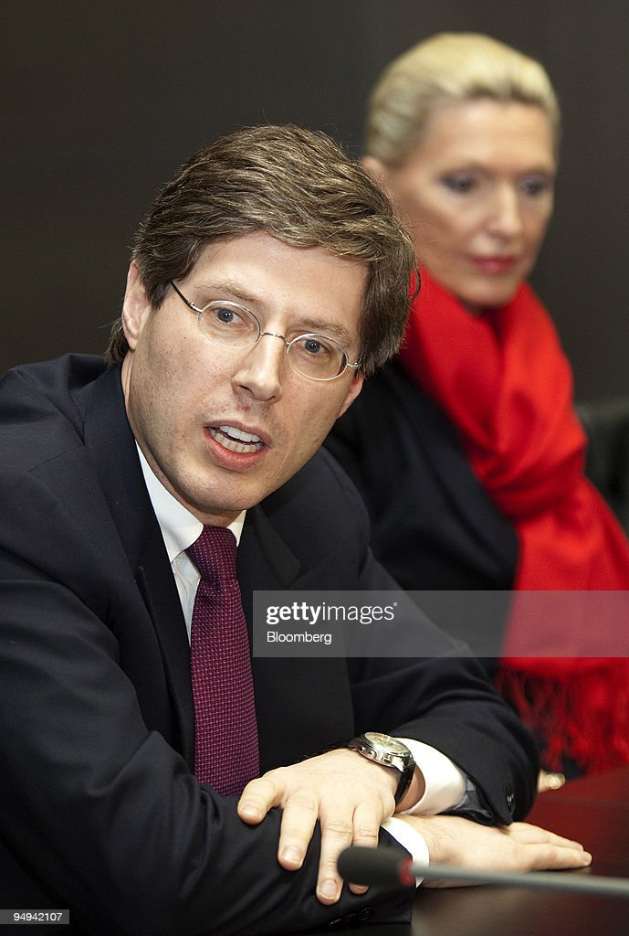 Georg Schaeffler, co-owner of the Schaeffler Group, left, sp : Foto jornalística