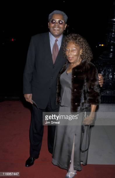 Georg Stanford Brown and his mother during 'Ronin' Los Angeles Premiere at Academy Theater in Beverly Hills California United States