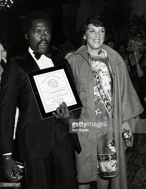 Georg Stanford Brown and Tyne Daly during 34th Annual Directors Guild Awards Dinner at Beverly Hilton Hotel in Beverly Hills California United States