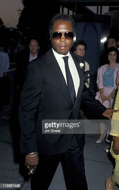 Georg Stanford Brown during Gypsy Los Angeles Opening Night at Dorothy Chandler Pavillion in Los Angeles California United States