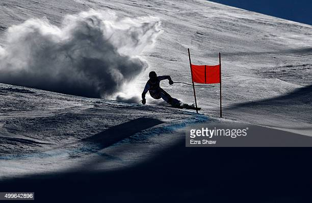 Georg Streitberger of Austria competes during downhill training for the Audi FIS Ski World Cup on the Birds of Prey on December 2 2015 in Beaver...