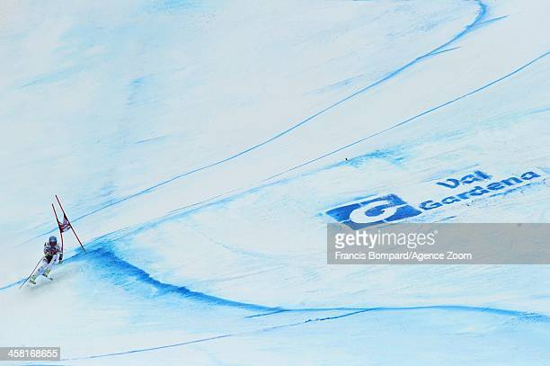 Georg Streitberger of Austria competes during the Audi FIS Alpine Ski World Cup Men's SuperG on December 20 2013 in Val Gardena Italy