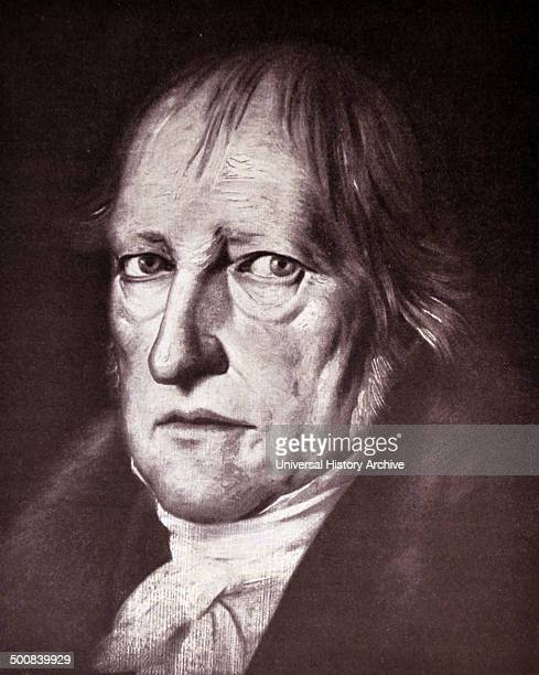Georg Wilhelm Friedrich Hegel was a German philosopher