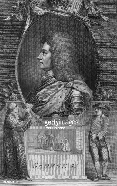 'George 1st' 1790 George I King of Great Britain and Ireland from 1 August 1714 until his death From The History of England by David Hume [T Cadell...