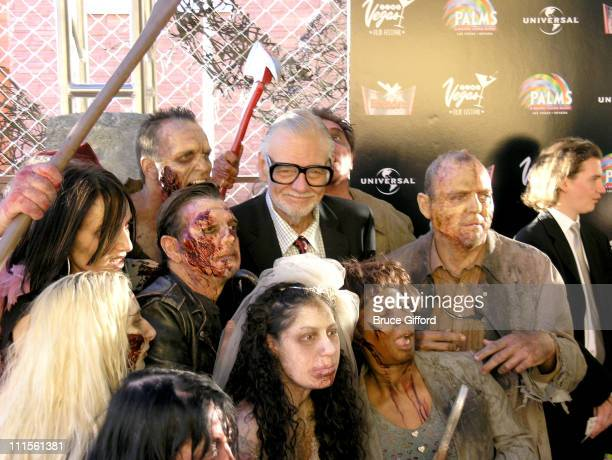 George A Romero during CineVegas Film Festival 2005 'Land of The Dead' World Premiere at Brenden Theatres in Las Vegas Nevada