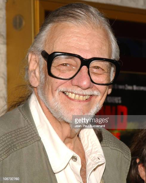 George A Romero during 'Land of the Dead' Los Angeles Premiere Arrivals at National Theatre in Westwood California United States