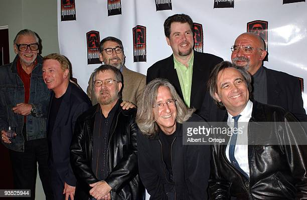 George A Romero John Landis Don Coscarelli Stuart Gordon Larry Cohen Tobe Hooper Mick Garris and Joe Dante