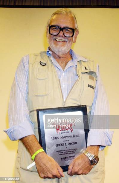 George A Romero winner Lifetime Achievement Award