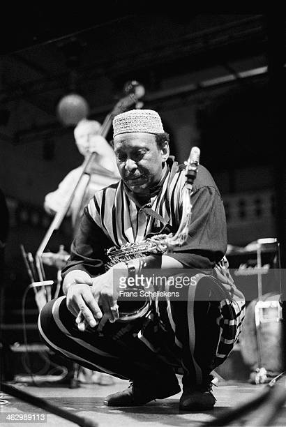 George Adams, tenor sax, performs at the Beurs Berlage on 9th July 1990 in Amsterdam, the Netherlands.