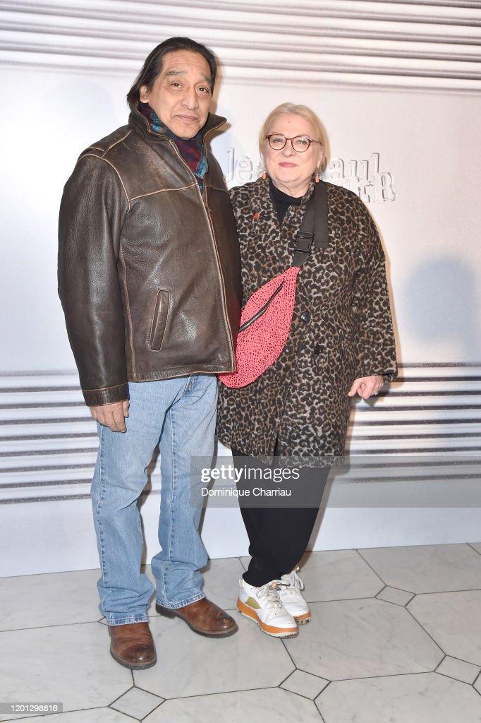 Jean-Paul Gaultier: Photocall - Paris Fashion Week - Haute Couture Spring/Summer 2020 : Nachrichtenfoto