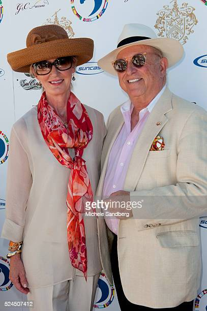 George and Chrystine Tauber and guest attend Trump Invitational Grand Prix at MaraLago Chrystine is President of US Equestrian Federation