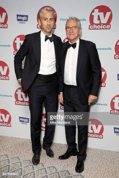 George and Larry Lamb arrive for the TV Choice Awards at The Dorchester on September 4 2017 in London England