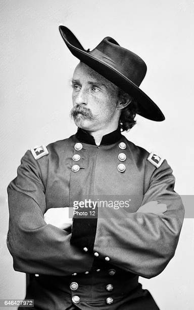 George Armstrong Custer United States Army office and cavalry commander in American Civil War and Indian Wars Defeated and killed at Battle of Little...