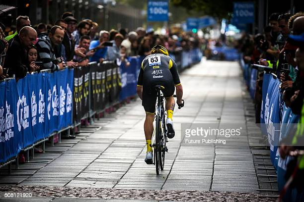 George Atkins of JLT seen competing in the Prologue stage on the first day of the Jayco Herald Sun Tour 2016 on February 03 2016 in Melbourne...