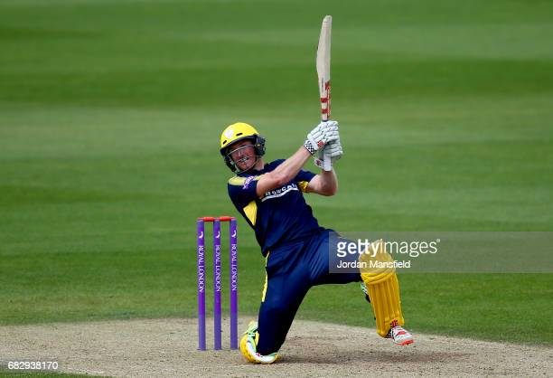 George Bailey of Hampshire bats during the Royal London OneDay Cup match between Surrey and Hampshire at The Kia Oval on May 14 2017 in London England
