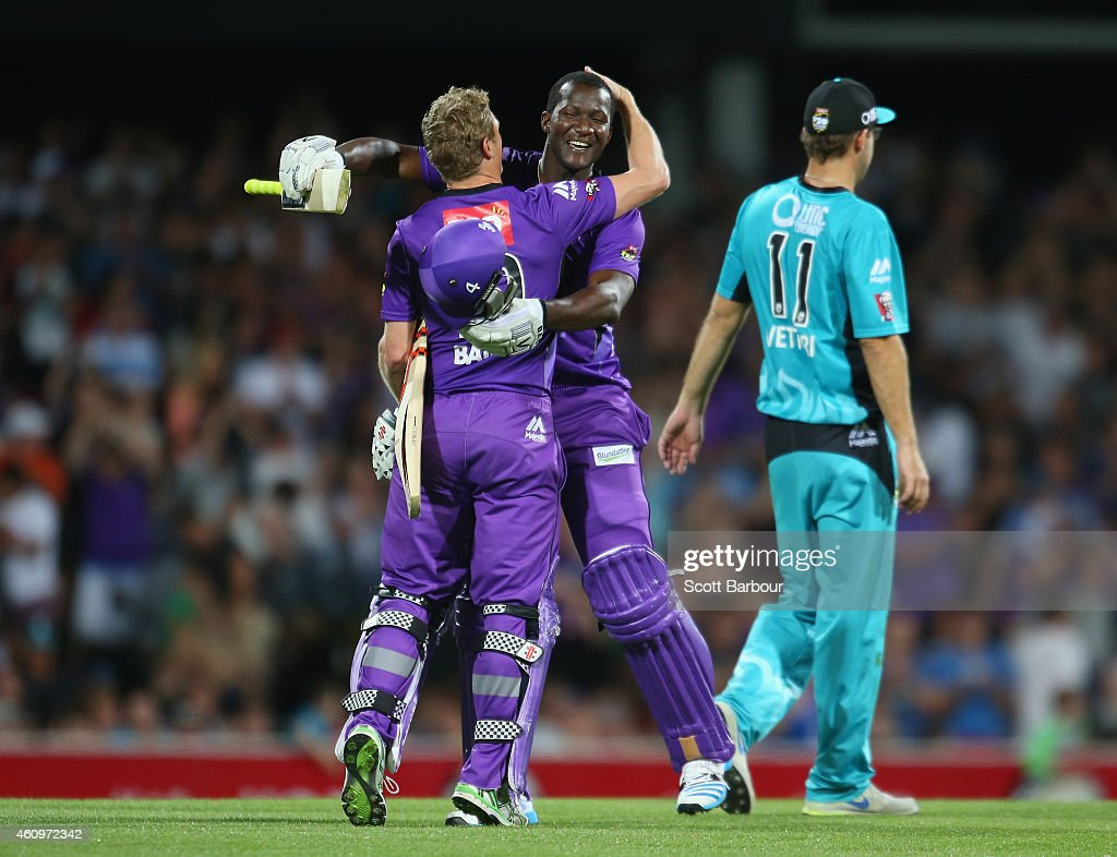 Big Bash League - Hobart v Brisbane