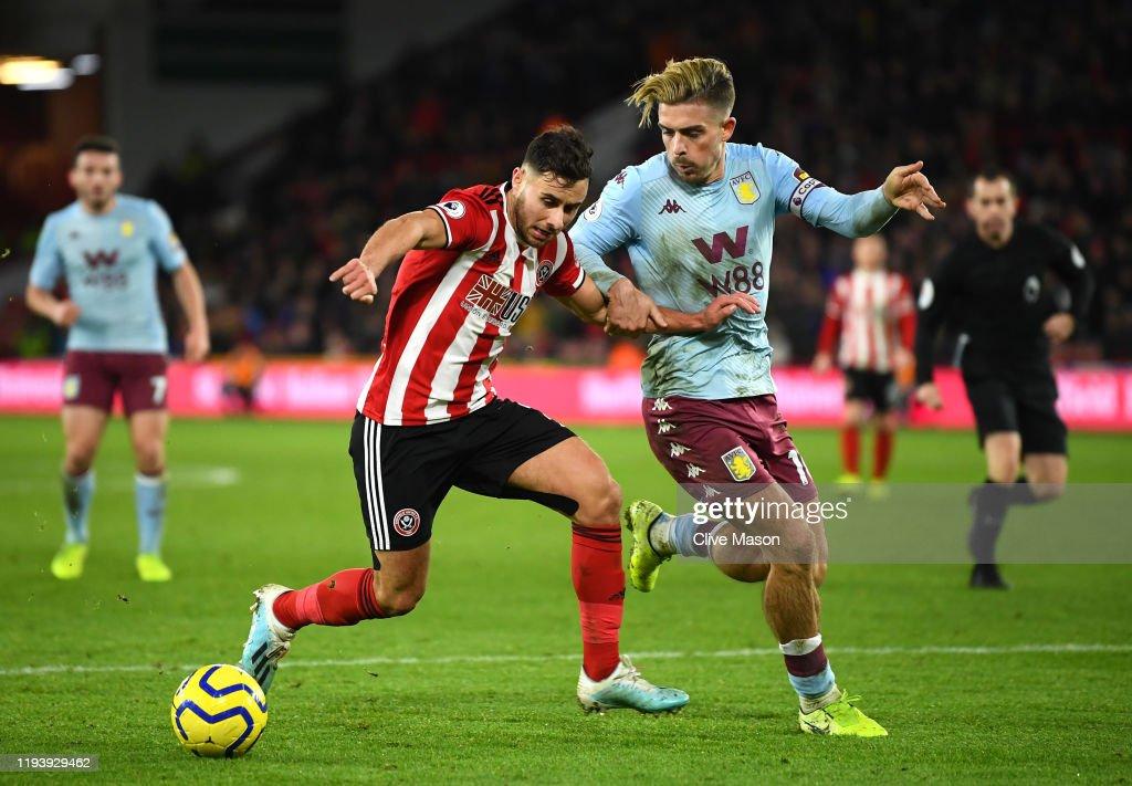 Sheffield United v Aston Villa - Premier League : News Photo