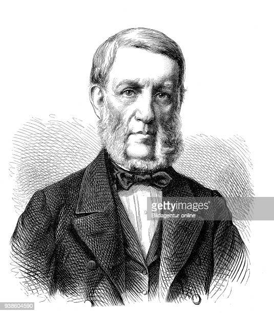 George Bancroft 1800 1891 was an American historian and statesman America illustration from the 19th century