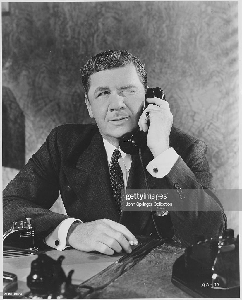George Bancroft as Mac Keefer in Angels with Dirty Faces  News Photo