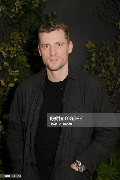 George Barnett attends a private dinner to celebrate the launch of the new ALEXACHUNG x Sunglass Hut eyewear collection at Wild by Tart on February...