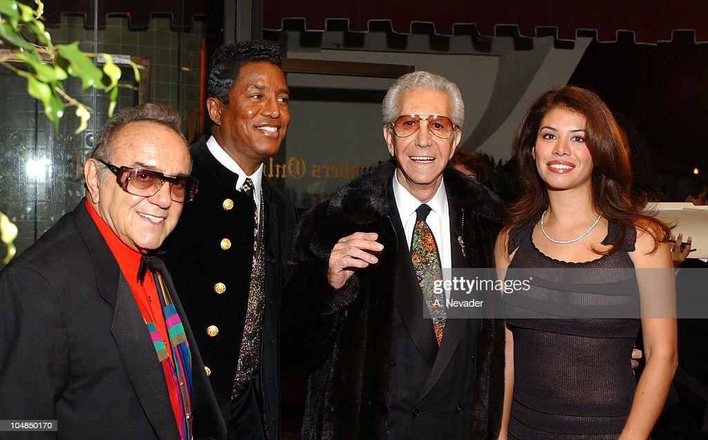 George Barris, Jermaine Jackson, Mr. Blackwell and Alejandra