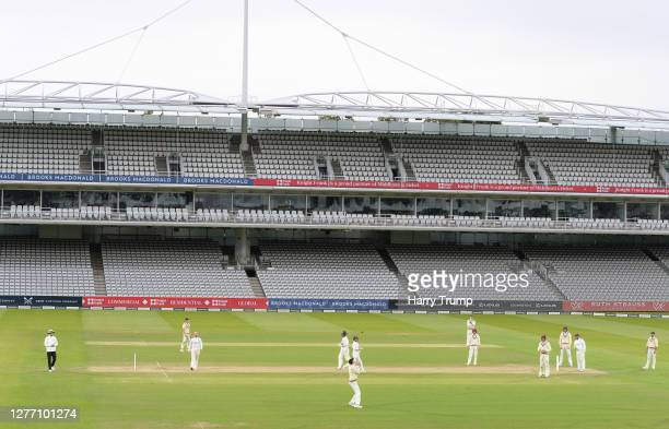 George Bartlett of Somerset takes a catch to dismiss Ryan Ten Doeschate of Essex during Day Five of the Bob Willis Trophy Final match between...