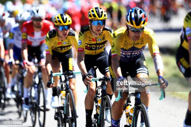 George Bennett of New Zealand and Team Jumbo - Visma / during the 107th Tour de France 2020, Stage 4 a 160,5km stage from Sisteron to...