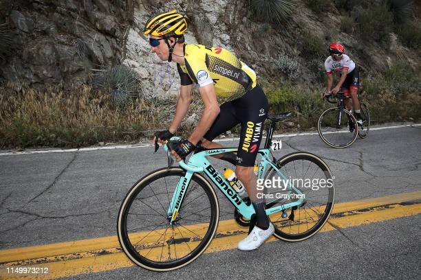 George Bennett of New Zealand and Team Jumbo - Visma / during the 14th Amgen Tour of California 2019, Stage 6 a 127,5km stage from Ontario to...