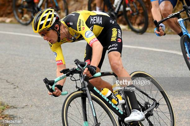 George Bennett of New Zealand and Team Jumbo - Visma / during the 75th Tour of Spain 2020, Stage 16 a 162km stage from Salamanca to Ciudad Rodrigo /...