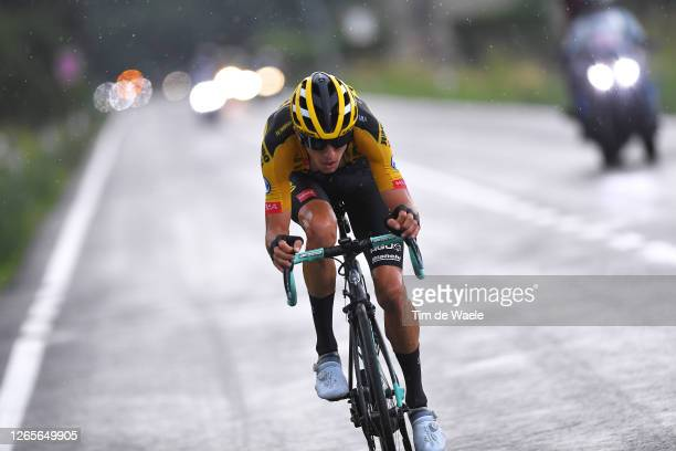 George Bennett of New Zealand and Team Jumbo-Visma / during the 104th Giro del Piemonte 2020 a 187km race from Santo Stefano Belbo to Barolo 294m /...