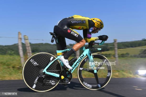 George Bennett of New Zealand and Team Jumbo-Visma / during the 106th Tour de France 2019 - Stage 13 a 27,2km Individual Time Trial Stage from Pau to...