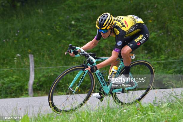 George Bennett of New Zealand and Team Jumbo-Visma / during the 106th Tour de France 2019, Stage 14 a 117km stage from Tarbes to Tourmalet Barèges...