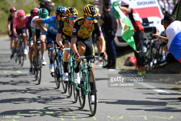 George Bennett of New Zealand and Team Jumbo-Visma / Steven Kruijswijk of The Netherlands and Team Jumbo-Visma / during the 106th Tour de France...