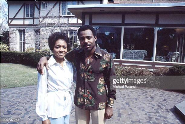 George Benson and his wife Johnnie at their home USA 5th September 1977