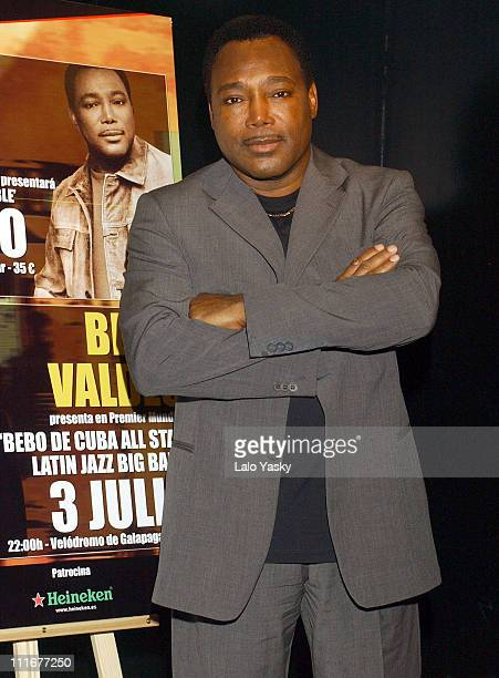 George Benson during George Benson Promotes his New CD Irreplacable Photocall at Studio Club in Madrid Spain
